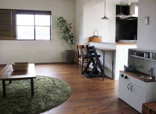 断捨離をしてスッキリと風通しのよいお洒落な部屋に模様替え