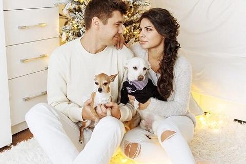 2018年のいぬ年に見事に彼女を作れた犬好きな男