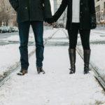 寒い冬が後押しをしてくれて見事にカップル成立した男女