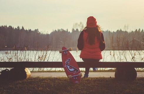 女友達を待ち合わせ場所に呼び出して逆バレンタインに愛の告白