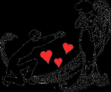 欧米では一般的に男性から愛を告げる日とされているバレンタイン
