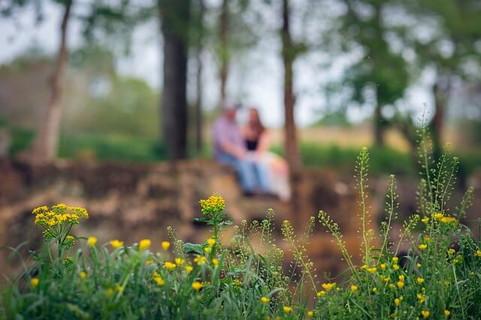 春に巡り合えた二人が見事カップル成立して幸せにデートをしている真っ最中