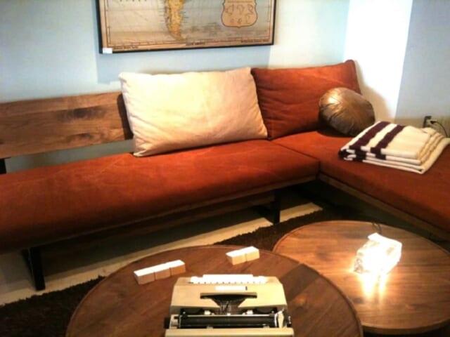 アメリカンクラシックな雰囲気作りをしたイケメンの部屋