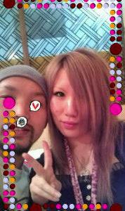 澄さんとめぐるさんのしあわせツーショット写真