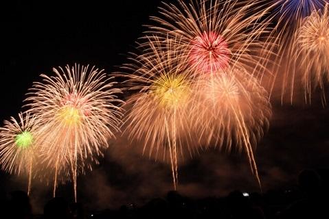 夏の夜空を彩り人々に感動を与える長岡花火大会の打ち上げ花火