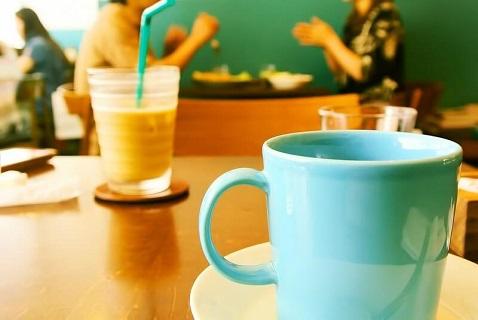 女子との初対面で訪れたカフェ