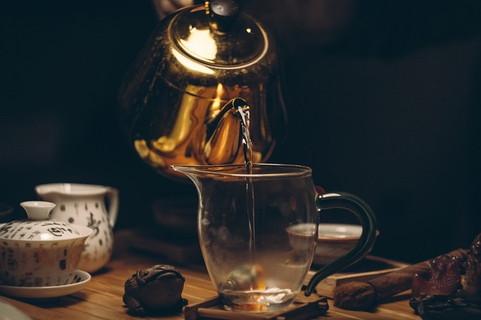 生姜のエキスがたっぷり抽出されてい飲んだとたんに身体が温まりそうな生姜紅茶