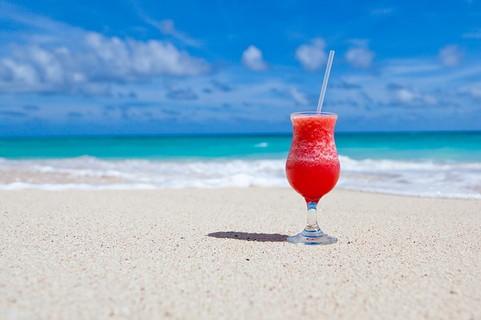 ビーチで夏の間だ夏の楽しみを共にしてくれる女性を求めている男性