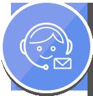 2つ目の安心、有人でのサポートで通報・相談に迅速に対応いたします。