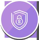 3つ目の安心、JAPHIC(ジャフィック)認証済の保護体制であなたの個人情報をお守りします。