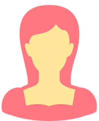 女性会員シルエット画像